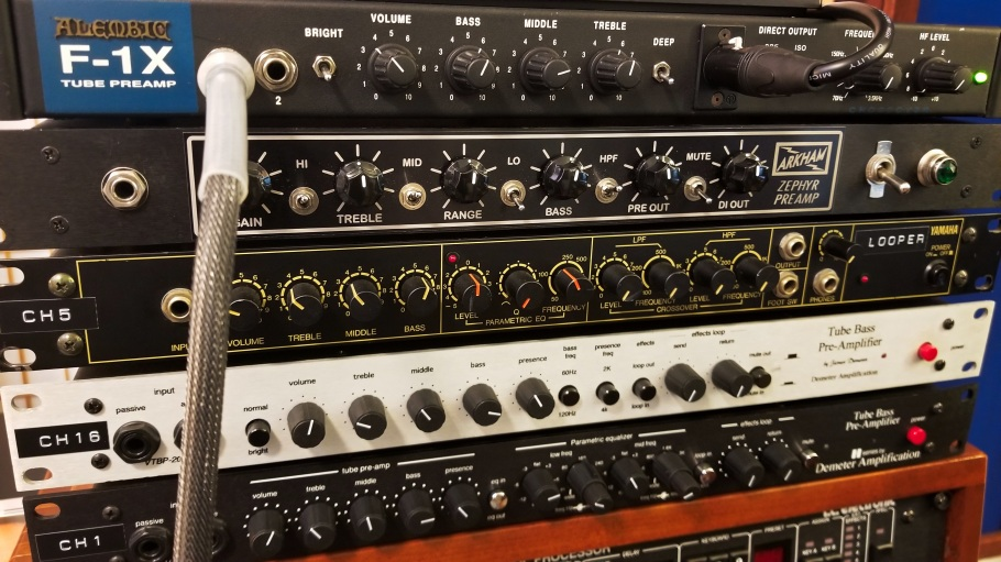 Tube Bass Preamps